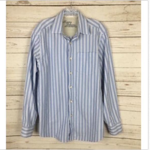 New Tommy Bahama Mens 100/% Linen Long Sleeve Casual Shirt Multi-Color//Size